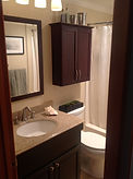 Granite Vanity, Small Bathroom