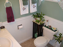 Wainscotting, Country Bathroom