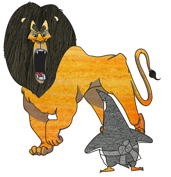 Xander the Lion 2