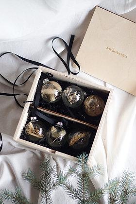 Набор Сhristmas Ornaments №1 с сухоцветами