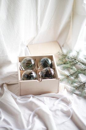 Набор Сhristmas Ornaments №2 с растениями