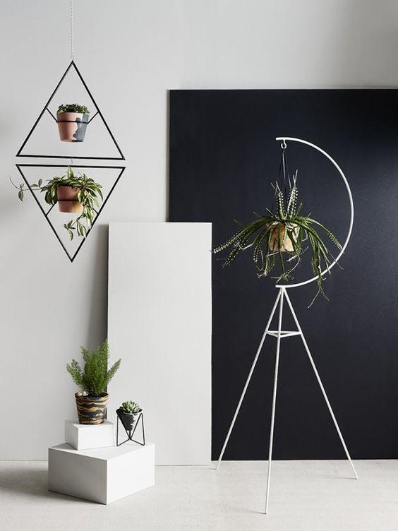 Ретро-кашпо в современном обрамлении от Австралийских дизайнеров CAPRA DESIGNS.