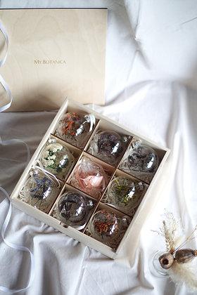 Набор Сhristmas Ornaments №3 с цветами