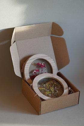 Набор Botanical Postcard Gypsophila/Limonium