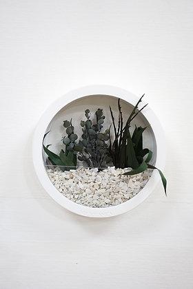 White Plants Bag M