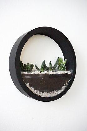 Black Plants Bag L