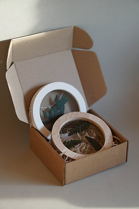 Набор Botanical Postcard Parvifolia/Leather Fern