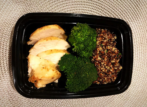 Chicken Vegetables and Quinoa