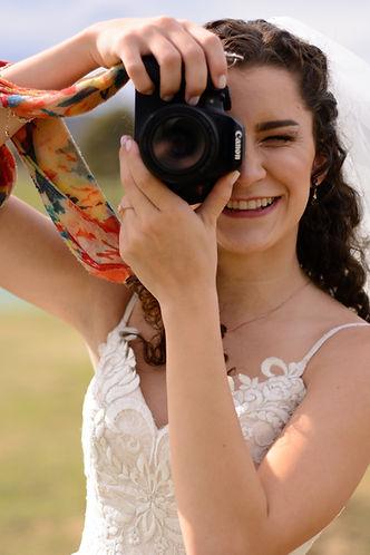 Photographer, wedding, camera, Canon, bride