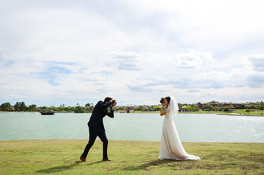 Bride, groom, photographer,wedding