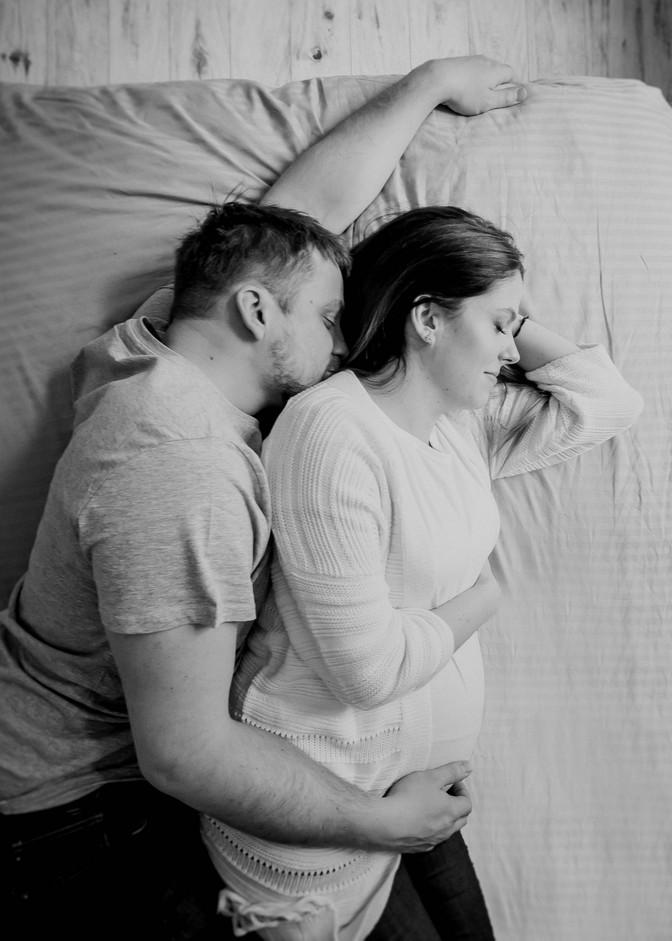 Ania & Mateusz - sesja ciążowa