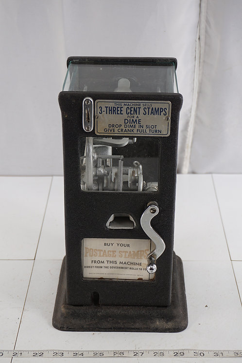 Postage Stamp Machine - 3 - Three Cent Stamps For A Dime By