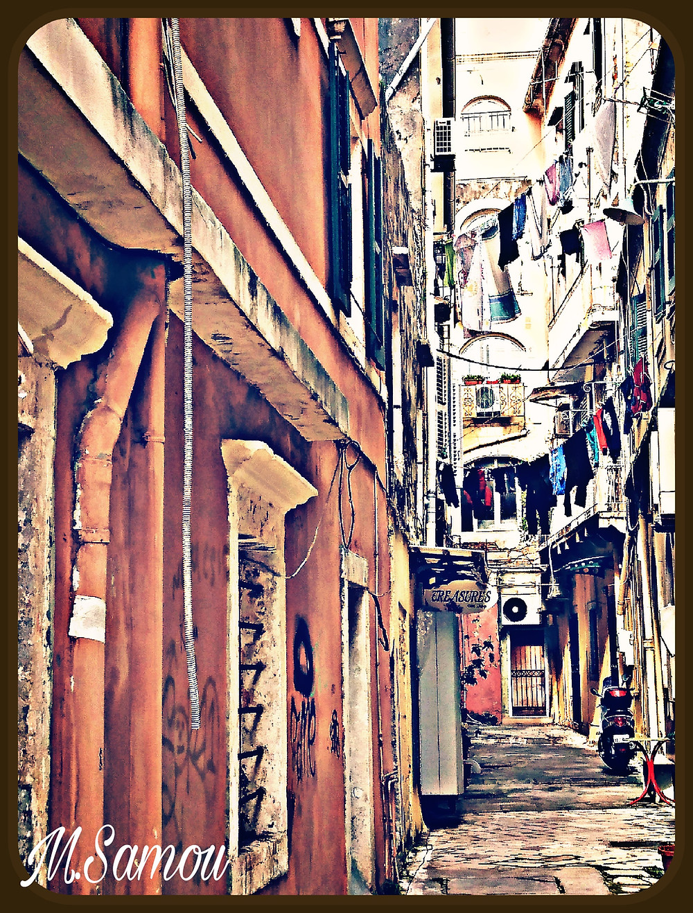 Stunning narrow streets - Photos by me