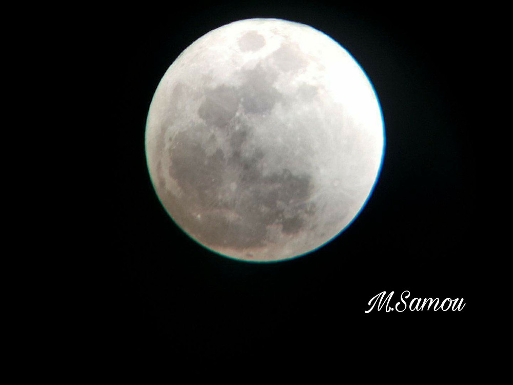 31st of January super full moon