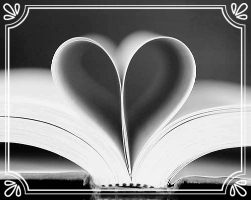 Love is in the books - Photo source Pinterest