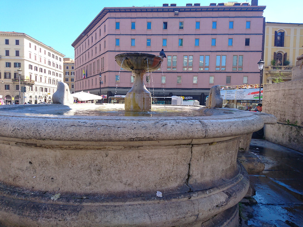 Fountains in Rome- Photo credits Mary Samou