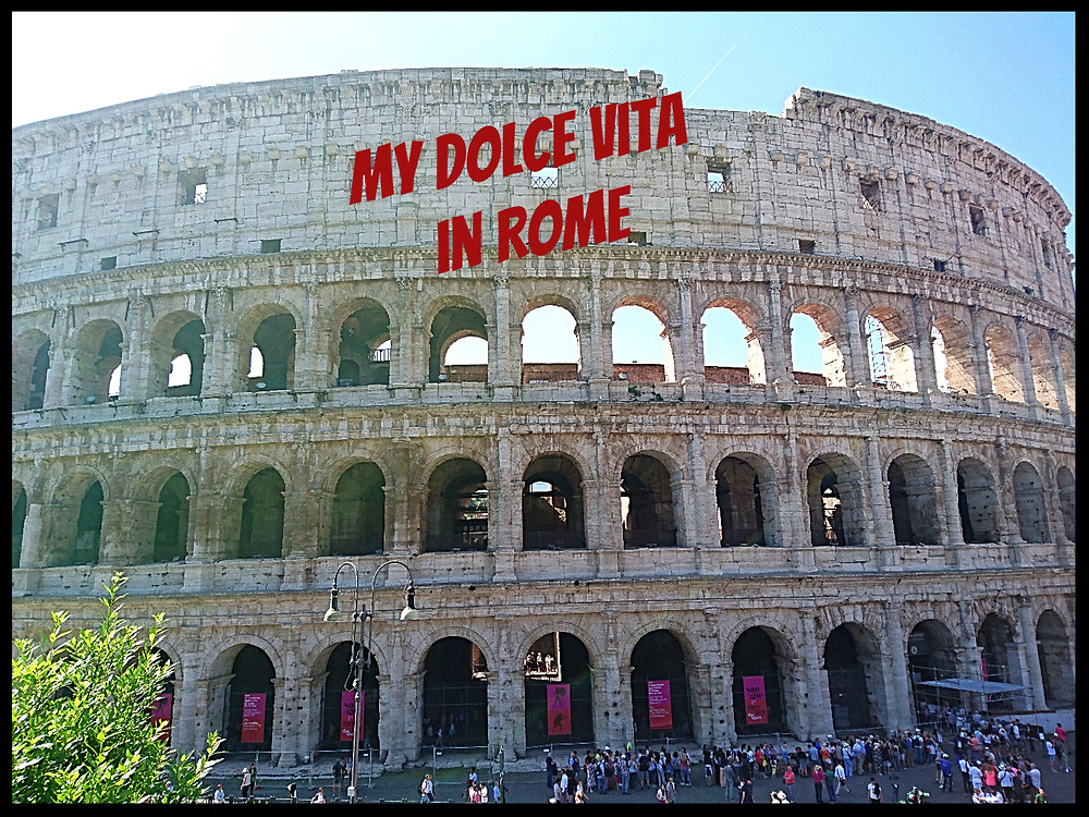 Rome - The Colosseum - photo credits Mary Samou
