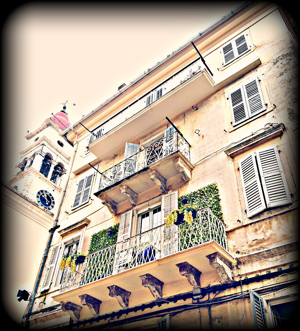 Colorful balconies - Photos by me