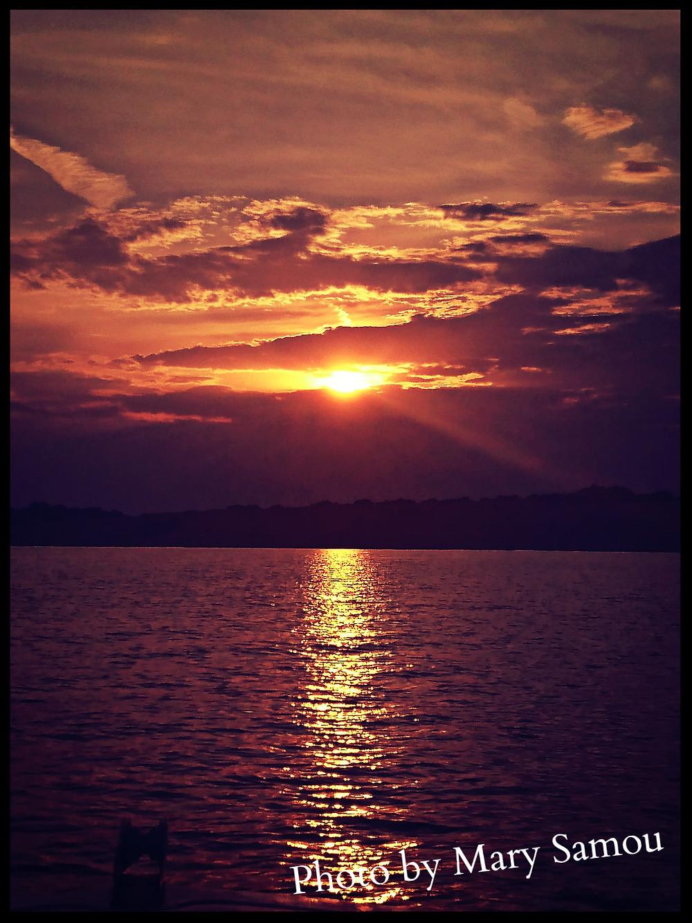 Corfu Sunsets - Photo Credits Mary Samou
