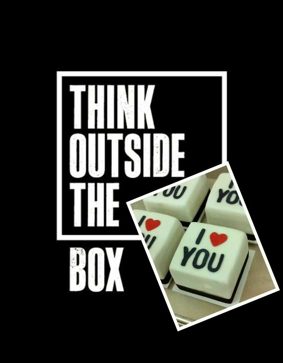 'Think outside the box' - Photo credits Pinterest