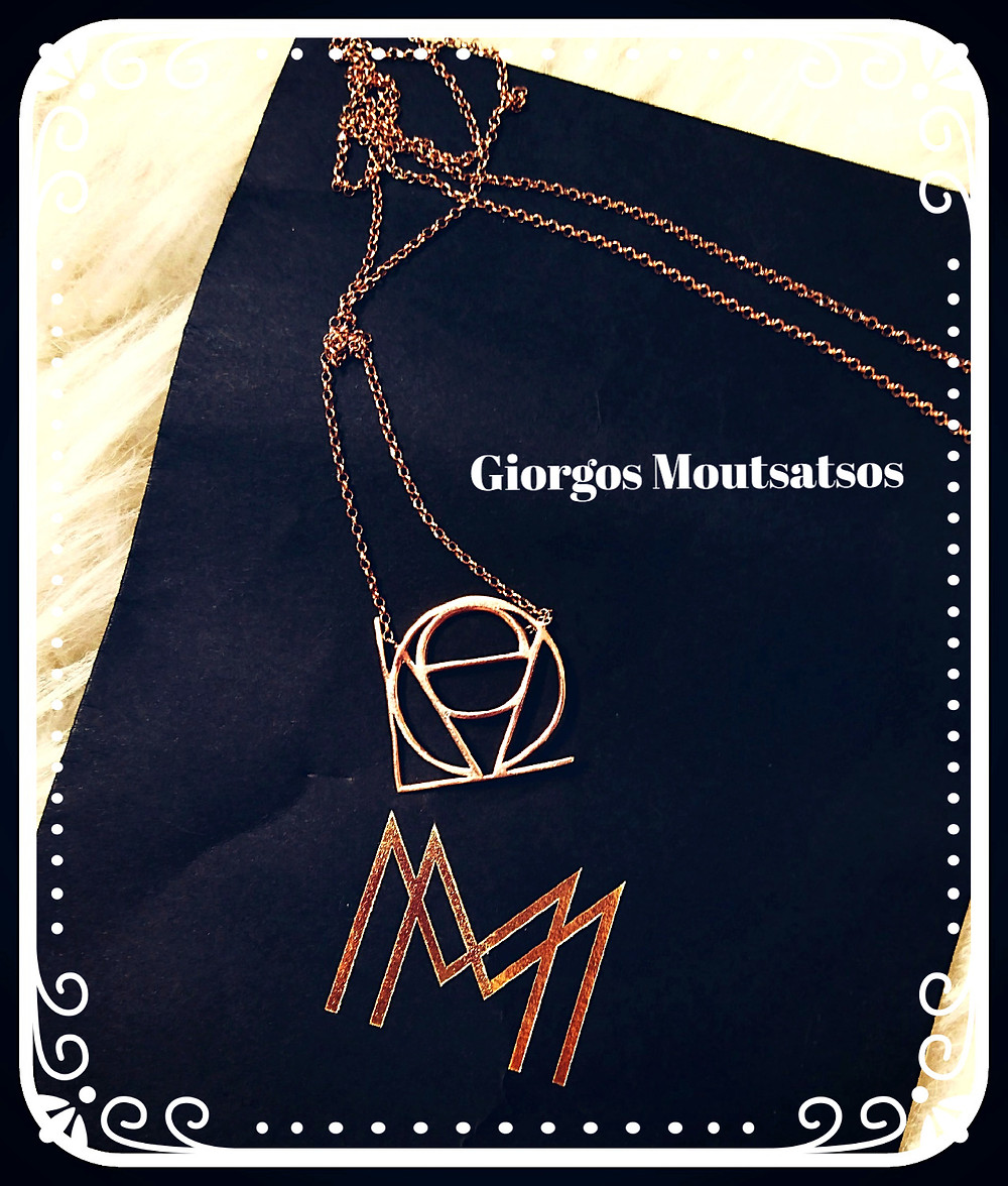 LOVE necklace By Giorgos Moutsatsos - Photo credit Mary Samou
