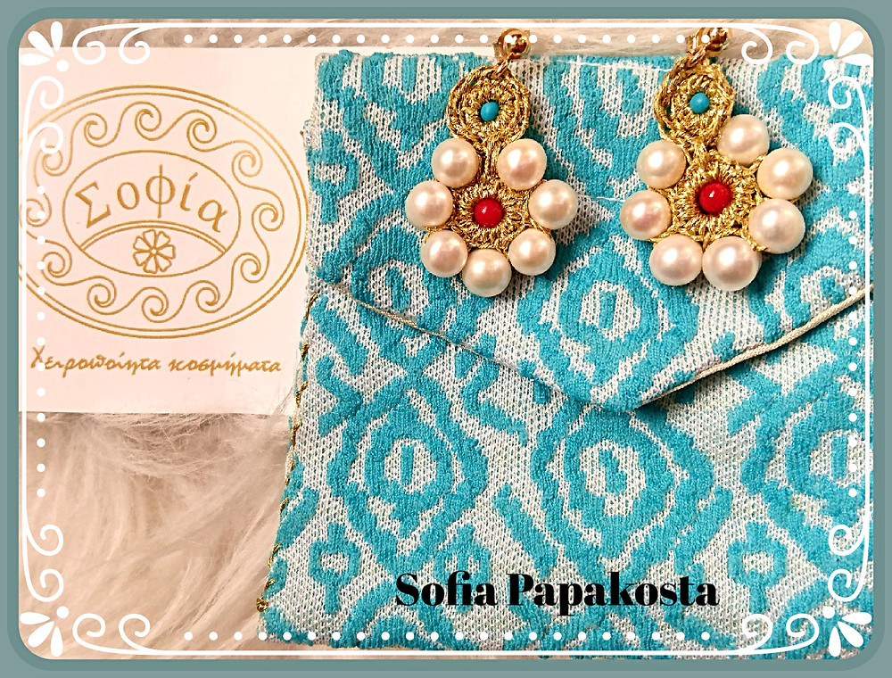 Handmade Jewellery By Sofia Papakosta - Photo credit Mary Samou