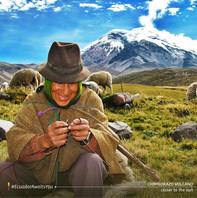Indigena en el Altiplano