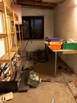 Haushaltsauflösung Oldenburg Werkstatt voll