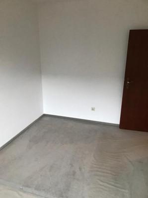 Haushaltsauflösung leeres Schlafzimmer