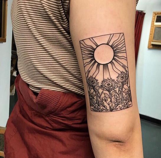 Tarot Sunflower