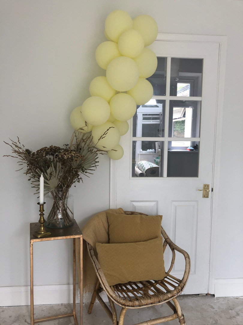 Prop hire and balloon decor