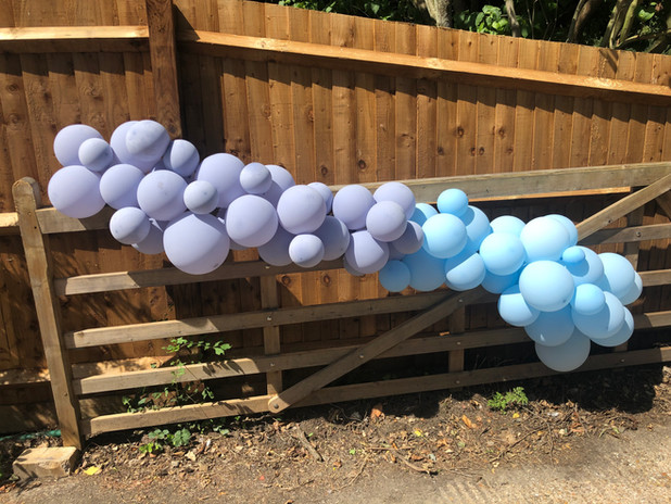 Entrance Balloons