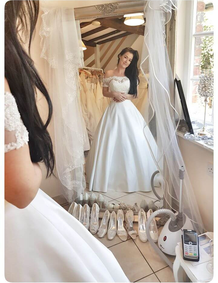 Exclusively Yours Bridal Boutique - Pre-loved & ex-sample wedding dresses Blandford Dorset