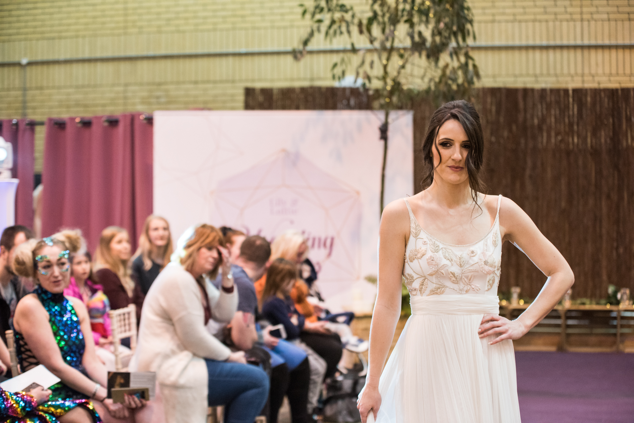 Lily & Lottie Wedding Show Fashion Catwalk