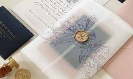 Wedding Inspiration - Floral Wedding Invitations