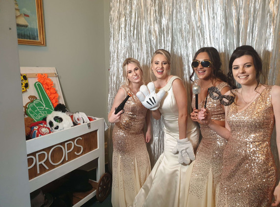 Pikabooth - Open Plan Photo Booth Hire Dorset