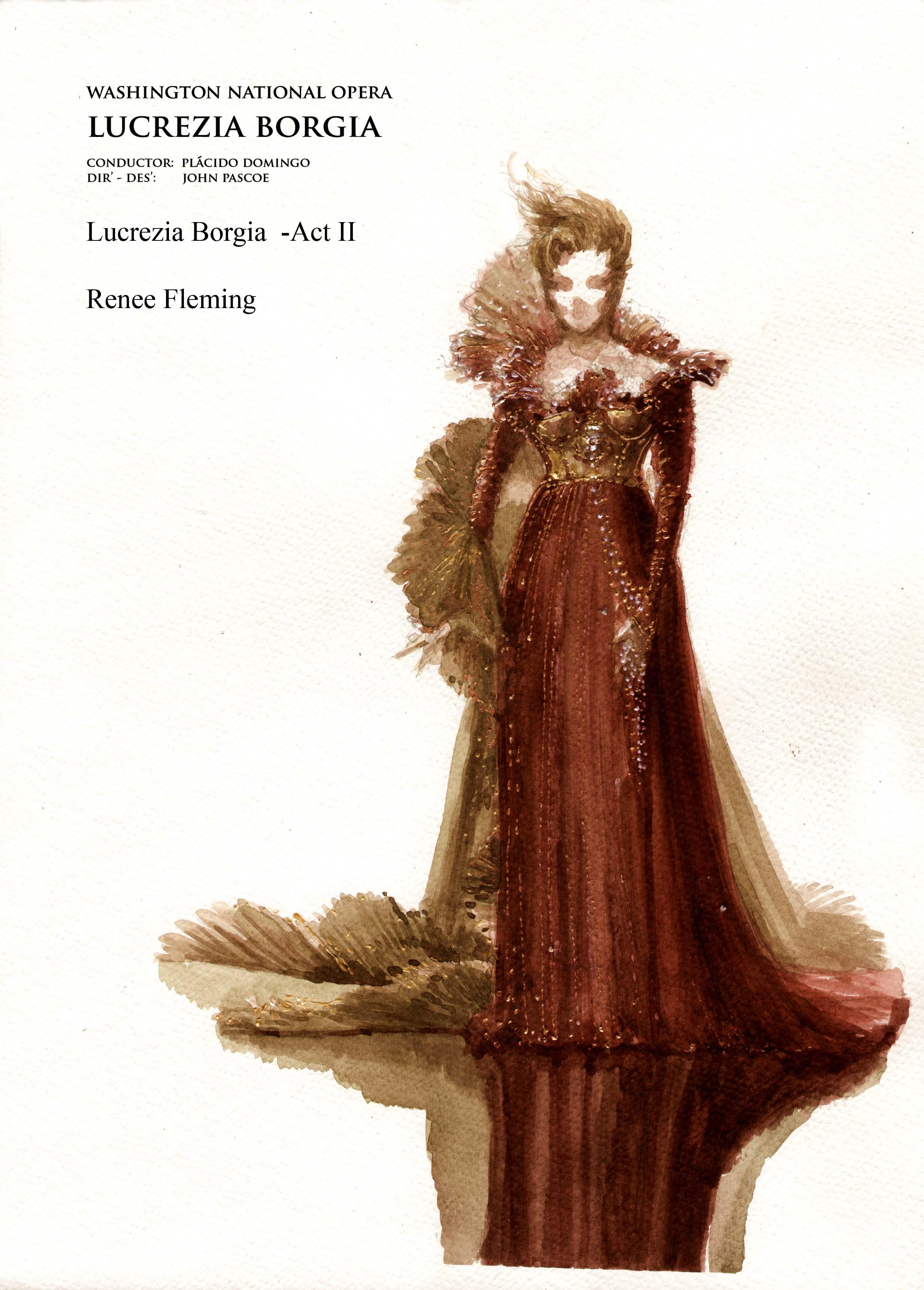 Lucrezia  Borgia ACT 11 scii