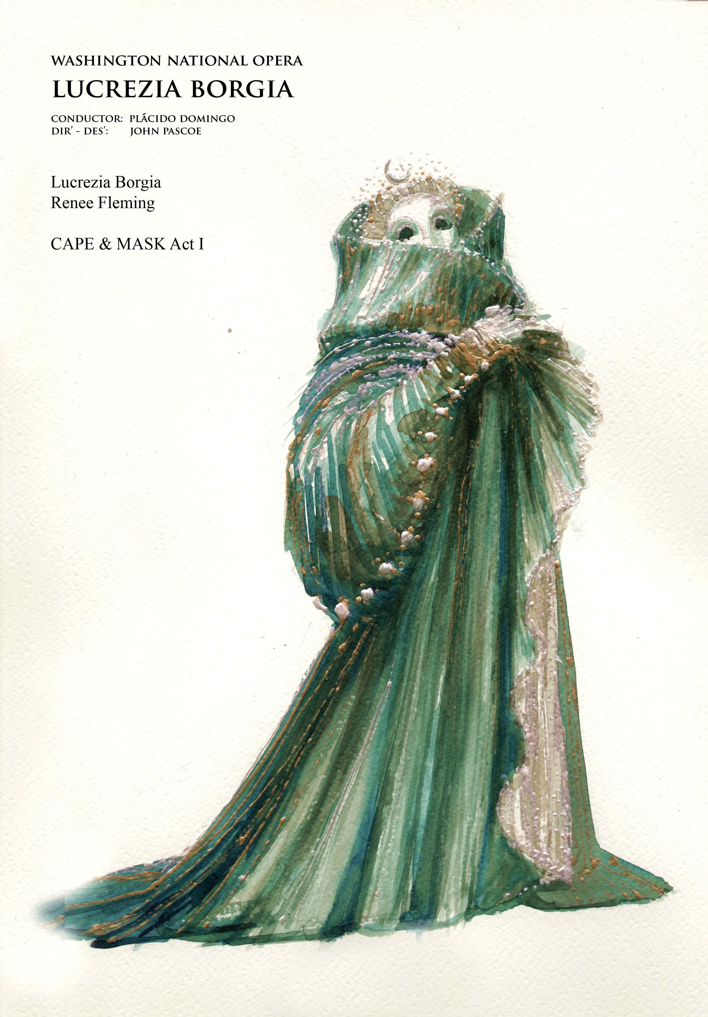 Lucrezia Borgia. Act 1