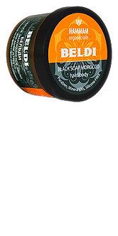 Черное марокканское мыло «Beldi» серии «Hammam organic oils»