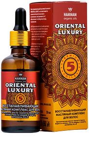 Восстанавливающий масляный комплекс для волос «Oriental Luxury»