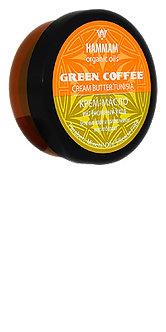 """Крем-масло «Green coffee """"Интенсивный уход""""» серии «Hammam organic oils»"""