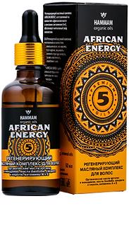 Регенерирующий масляный комплекс для волос «African Energy»