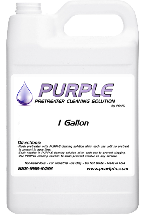 Purple - Pretreat Cleaning Solution - 1 Gallon Concentrate