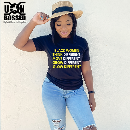 BLACK WOMEN GLOW DESIGN