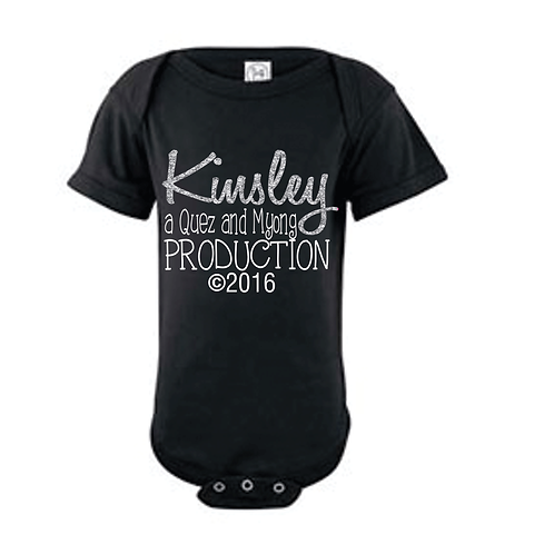 CUSTOM PRODUCTION ONESIE