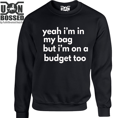 IN MY BAG BUT ON A BUDGET SHIRT