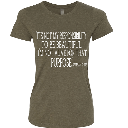 WOMAN'S PURPOSE SHIRT