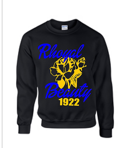SGRHO RHOYAL BEAUTY SWEATSHIRT