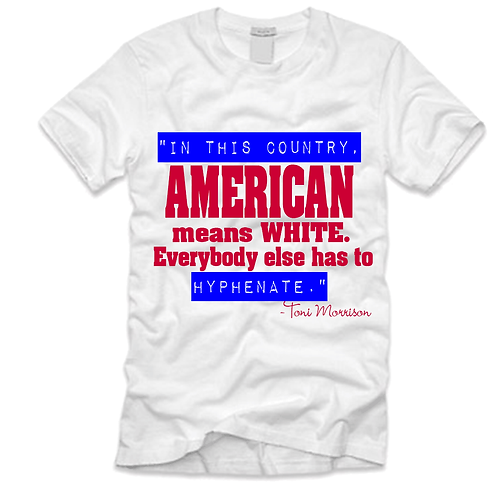 AMERICAN MEANS WHITE