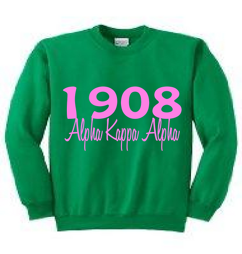 Year Crewneck Sweatshirt